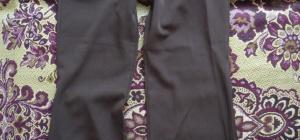 Как определить размер штанов