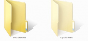 Как обнаружить скрытые папки
