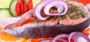 Как приготовить стейк лосося