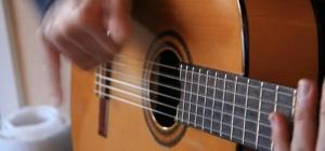 Как играть песни ранеток на гитаре