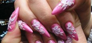 Как наращивать ногти гелем и акрилом