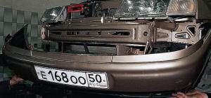 Как отремонтировать бампер ВАЗ