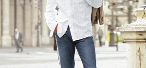 Как одеться худому парню