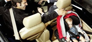 Как пристегнуть автокресло