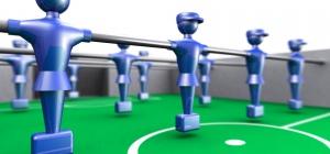 Как сделать настольный футбол