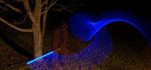Как собрать световой меч