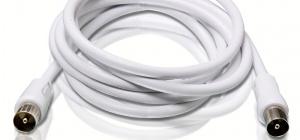 Как выбрать антенный кабель
