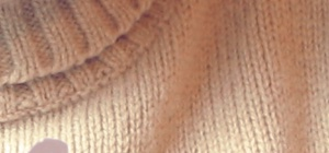 Как вывести пятно на свитере