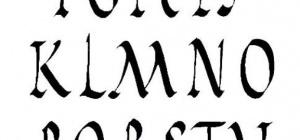 Как написать имя латинским буквами