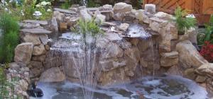 Как сделать на даче фонтан