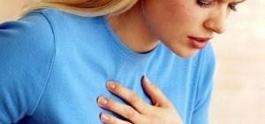 Как снять боль в груди