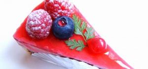 Как украсить торт желе