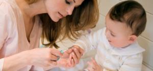 Как лечить ногти у ребенка