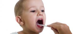 Как посмотреть ребенку горло