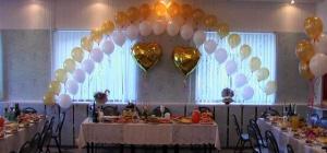 Как украсить столовую к свадьбе