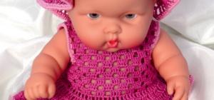 Как вязать одежду для кукол