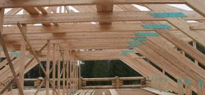 Как сделать крышу на дом