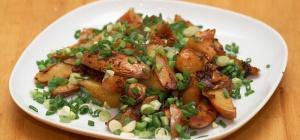 Как приготовить жареную картошку с грибами