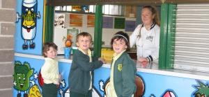 Как оформить школьную столовую