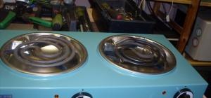 Как разобрать плиту