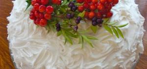 Как оформить красиво торт