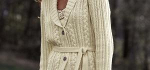 Как украсить вязаную кофту