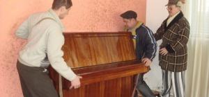 Как перенести пианино
