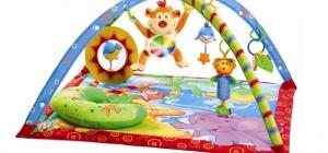 Как сделать игровой развивающий коврик для малыша
