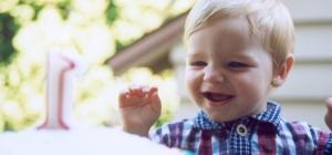 Как отметить день рождения годовалого ребенка