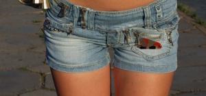 Как выкроить женские шорты