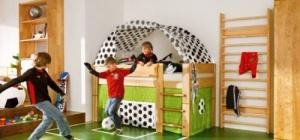 Как сделать детский спортивный уголок
