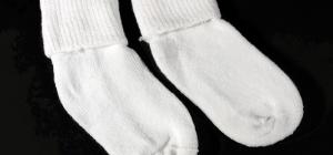 Как вязать носки на вязальной машине
