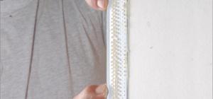 Как заделать углы на гипсокартоне