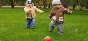 Как научить ребенка играть в футбол