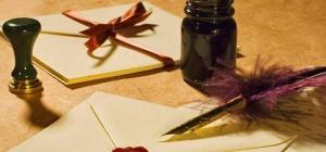 Как написать письмо о чувствах