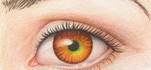 Как нарисовать глаза девушки