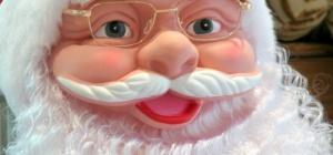 Как нарисовать лицо Деда Мороза