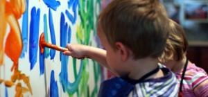 Как оформить выставку детских работ