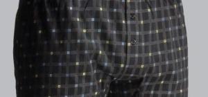 Как шить мужские трусы