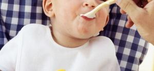 Как начать прикорм малыша