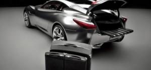 Как разобрать замок багажника