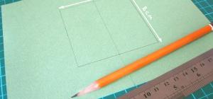 Как сделать из прямоугольника квадрат