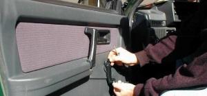 Как снять ручку стеклоподъемника ВАЗа