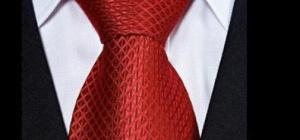 Как завязать галстук широким узлом