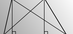 Как найти длину диагоналей трапеции