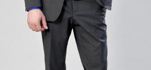 Как определить размер мужских брюк