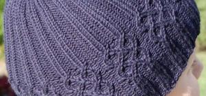 Как закрыть вязаную шапку
