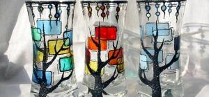 Как окрасить стекло