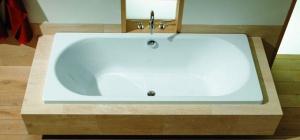 Как устранить скол на ванной