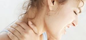 Как лечить защемление шейного нерва